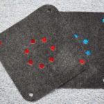 Jak zrobić proste podkładki z filcu? – poradnik